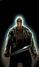 WOW WINDOWS COVER JASON VOORHEES FRIDAY 13TH HALLOWEEN DECORATION WW00193