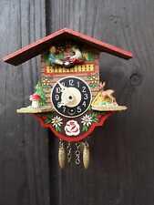 Miniatur Pendeluhr Jockele Uhr Wanduhr Schwarzwalduhr