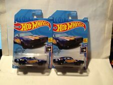 (TWO ) Hot Wheels 2020 HW Race Team Blue '69 Dodge Charger's