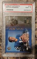 1998 SP Authentic Peyton Manning #14 MINT 9  0857/2000