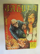 """Jacula la Reine des Vampires Num 42 """"il est minuit,docteur Verdier"""" /ElviFrance"""