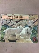 1946 Encyclopedia Britannica TRUE NATURE SERIES BOOK Goats And Kids #9