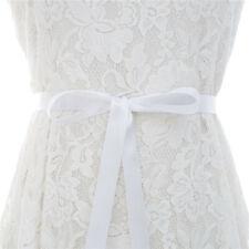 Women's Bride Wedding Waist Dress Belt Waistband Handmade Rhinestone Pearl Party