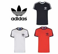 Men's ADIDAS Sport ESS TEE S18423 California Style T-Shirt White,Black,Navy,Red