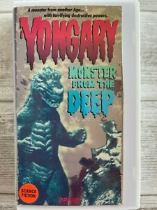 Yongary Monster from the Deep VHS 1969 Oh Yeong-il Nam Jeong-im Cho Kyoung-min