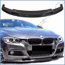 VS Look Carbon Fiber Front Spoiler Lip 12-15 F30 328i 335i M-Tech M-Sport Bumper