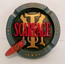 Scarface Ashtray Wall Decor Official Universal Studios Rare Movie Memorabilia