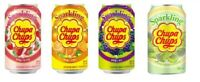 CHUPA CHUPS SPARKLING DRINK - 345ML - BIG CHOICE -  FIZZY LOLLIPOP CANDY SODA