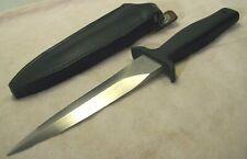 1980's~GERBER GUARDIAN MK I~UNUSED~FIGHTING KNIFE BOOT DAGGER w/ORIGINAL SHEATH~