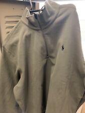 Polo Ralph Lauren Fleece Pullover Performance 1/4 Zip Excess Gray Men XXL NWT