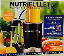 NutriBullet Rx Stainless Steel 1700 Watt 10 Piece Nutrition Blender