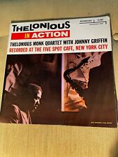 "Thelonious Monk, In Action; Riverside 262, Blue lbl, DG, No ""Inc,"" OG MONO"