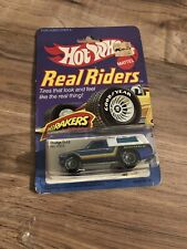 HOT WHEELS  HI-RAKERS DODGE D-50 PICK UP TRUCK REAL RIDERS Grey HUBS #4353 1982