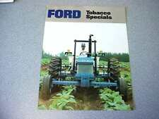 Ford Tobacco Specials Farm Tractor brochure                       lw