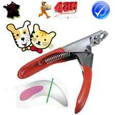 PINCE COUPE GRIFFES TAILLE ONGLES CISEAUX TOILETTAGE CHIEN CHAT RONGEUR ANIMAUX
