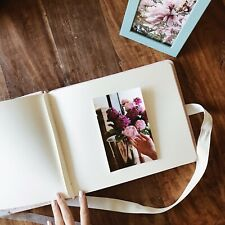 Wedding photo album Pink, Bridal Party Gift, Family Photo Album