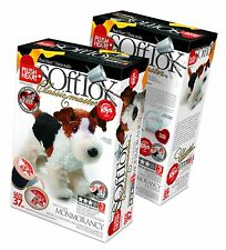 make your own soft toy ELF457002 Plush Hearts DIY Plush Standing Dog 37cm high