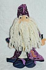 "2001  Royal Renaissance Manhattan Toy Atlantee Wizard 14"" Plush   EUC!!"
