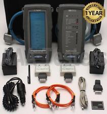 Agilent Wirescope 350 Cat5e Cat6 850 1300nm Mm Fiber Cable Certifier