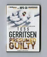 Presumed Guilty: by Tess Gerritsen - Audiobook - MP3CD