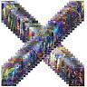 Gift 70Pcs All Holo Flash Card Pokemon Sun&Moon 69GX+1TRAINERI MEGA Snorla GX