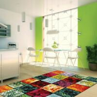 New Modern Multi Color Collection Fine Soft Floor Rug Carpet All Sizes