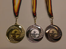 e262 Pokale & Preise Reiten Dressur Reiter Pokal Kids Medaillen mit Band&Emblem Turnier Pokale