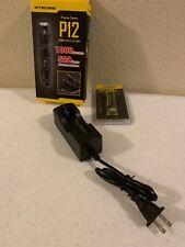 NITECORE P12 1000 Lumens  Precise Tactical Flashlight CREE XM-L2  U2 LED