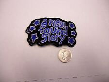 A New Found Glory Blue Stars IRON/SEW ON EMBROIDERED PATCH NEW
