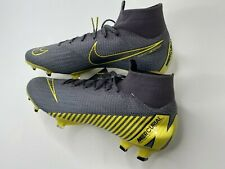 Nike Mercurial Superfly VI Elite FG Men's Size 8  Soccer Cleats Grey AH7365-071