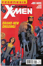 WOLVERINE AND THE X-MEN 1...VF/NM...2011...Jason Aaron,Chris Bachalo...Bargain!