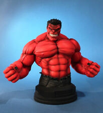 """GENTLE GIANT MARVEL Collection_RED HULK 7 """" Mini Bust_Diamond Exclusive_411of600"""