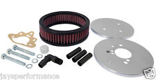 KN BOLT ON AIR FILTER (56-1620) FOR STROMBERG 175 CD, CENTRE HOLE (47 MM H)