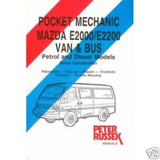 Mazda E2000/E2200, Van and Bus, Petrol and Diesel