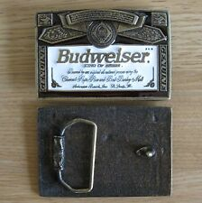 Budweiser beer belt buckle (choice designs)
