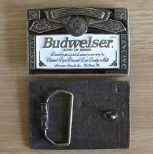 Budweiser beer belt buckle (choice designs)