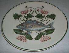 Villeroy & and Boch ATLANTIC FISH dinner plate 6 Sea Bream Brownidge MINT BD675