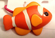 Gymboree Floral Reef line Orange Fish Ponytail Holder Girl Hair NWT Check It Out