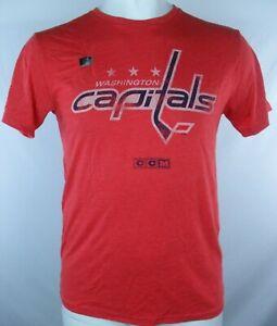 Washington Capitals NHL Men's CCM Distressed T-Shirt