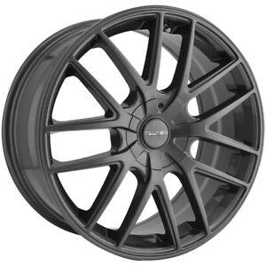 "Touren TR60 20x8.5 5x115/5x120 +20mm Gunmetal Wheel Rim 20"" Inch"