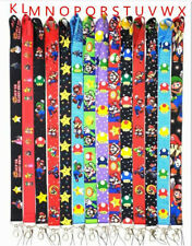 lot Super Mario mix Straps Lanyard ID Badge Holders Mobile Neck Key chain gifts