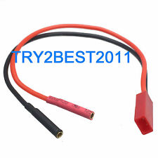 JST Female to 2mm Banana Female Gold Bullet Connector Battery Conversion Cable