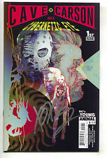 Cave Carson Has A Cybernetic Eye 1 C DC Young Animals 2016 NM Signed Gerard Way