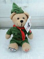 Boy Scouts of America Collectible Stamp Plush 2005 Bear US Postal Service