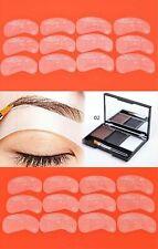 3 Color Eyebrow Powder + 24pcs Eyebrow Waterproof Card Stencil Shaping Makeup 02
