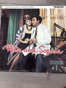 """PETER SELLERS AND SOPHIA LOREN - PETER AND SOPHIA - 12"""" VINYL LP"""
