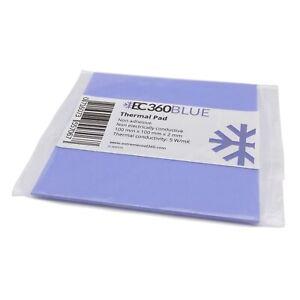 EC360® BLUE 5W/mK Wärmeleitpad (100 x 100 x 2,0 mm) I GPU RAM ThermalPad