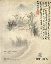 SOTHEBY'S CHINESE PAINTINGS CALLIGRAPHY Lin Fengmian Zheng Xie Catalog 1992