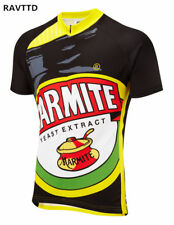 Marmite Mens Cycling Jerseys Quick-Dry Bike Jersey Sportswear Bicycle Clothing