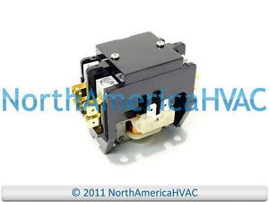 Supco Double 2 Pole 30 Amp Condenser Contactor Relay 110 120 Volt Coil DP301202